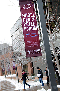 Nobel Peace Prize Forum image