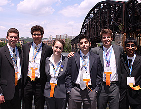 Picture of students at ISEF
