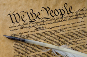 Picture of US Constitution