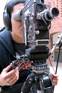Photo of Augsburg College filmmaker