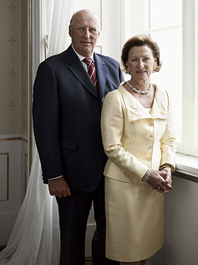 Picture of King Harald and Queen Sonja